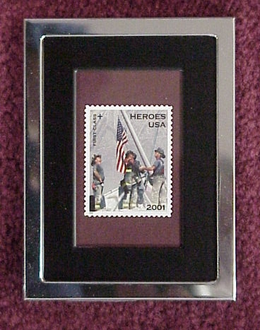 FIRE FIGHTERS US POSTAGE STAMP